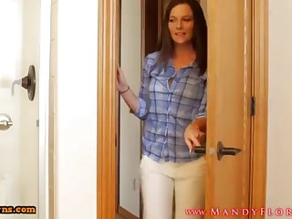 STEPMOMLOVER.COM: mommy training hump apropos her sonnie four