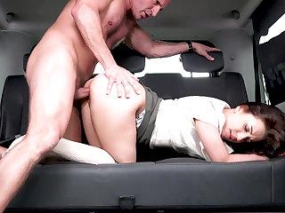 Bizzare backseat banging