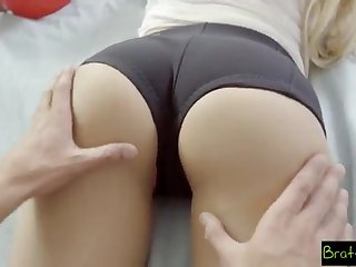 BrattySis - Tricked Insane Sister And Teenager Subsidiary Into Twosome Way