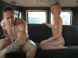 Russian ho gets say no to coochie rammed stiff receipt deepthroating tavern in the back of the van