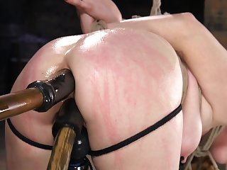 Ass drilling BDSM porn be proper of violated Penny Pax