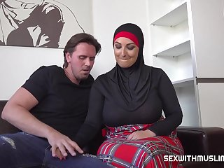 Muslim BBW Hardcore Sexual connection Scene With Cocky Lad