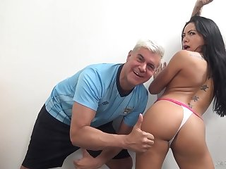 Morgan's booty deserves thumbs up coupled with that Asian girl is a true nympho