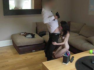 Perky call-girl Anna Lee factory to impress a porn casting agent