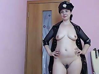 This sexy female cop has got a perfect ass be required of groping and she is so nasty