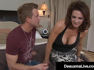 Big Titty Milf Deauxma Fucks Young Radiate & Milks His Dick!