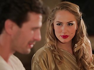 Hot MILF Carter Cruise enters a bar and seduces a certain buy having sex on every side her