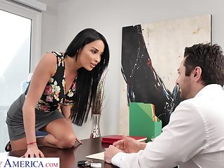 Anissa Kate wants to buy a new SUV for a lower than foray with an increment of she's ready to fuck