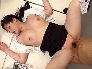 Teen Asian MILF thrilling sex clamp